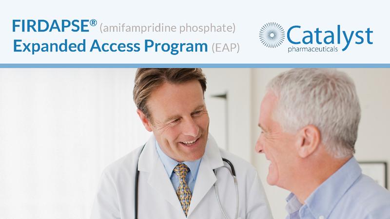 FIRDAPSE® Expanded Access Program (EAP) eBlast Close-up