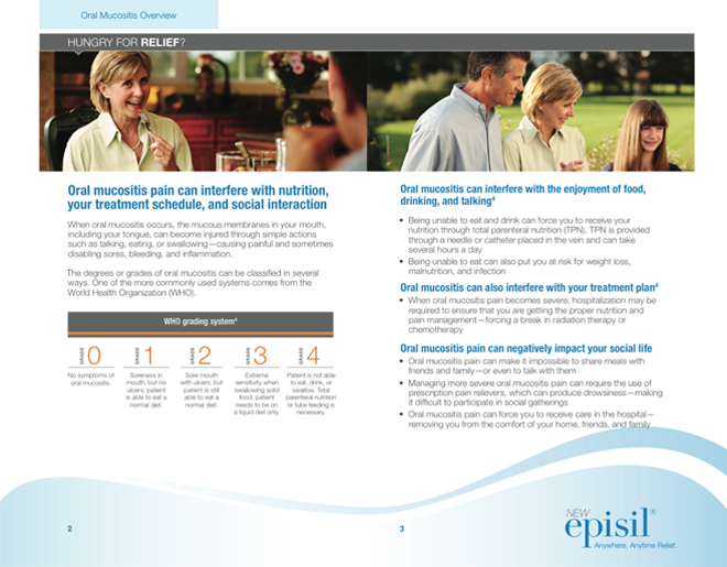 Patient Caregiver Brochure Inside Spread